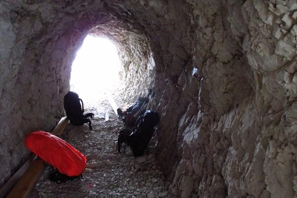 Обед в туннеле