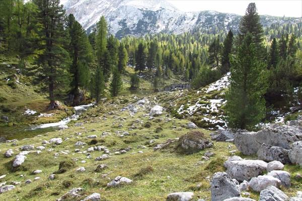 Долина Val di Fanes