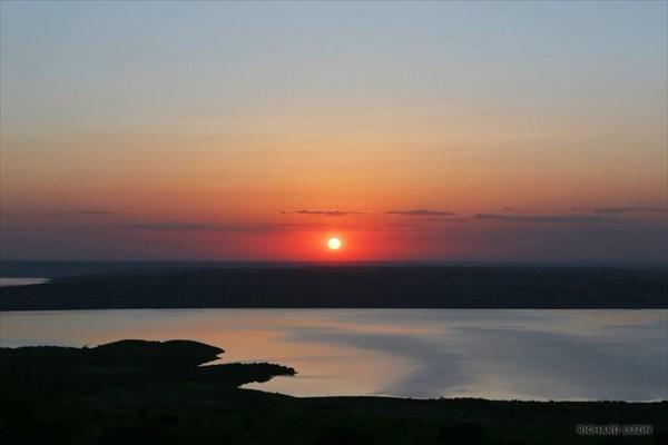 Сенгилеевское водохранилище.