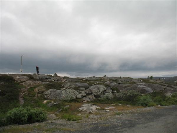Въехали в Норвегию