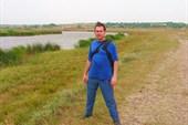 Я на берегу р. Тузлов