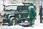 Сильный снегопад 3-го января