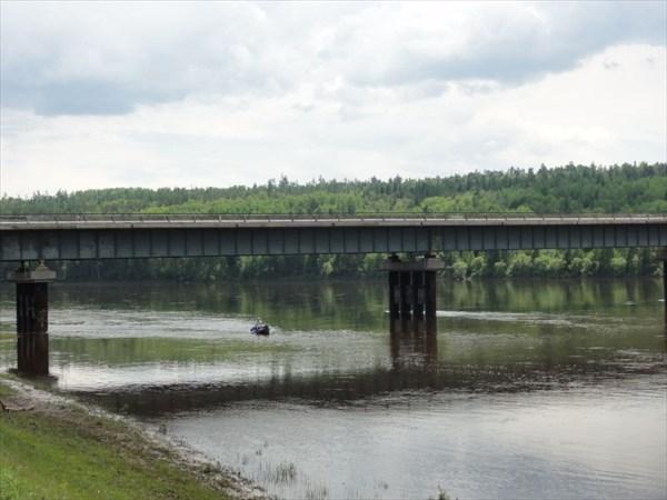 Мост у Чунояра.