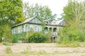 Старый дом в Тюлькино.