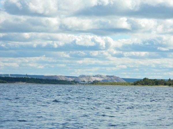 Соликамск, соляные отвалы.