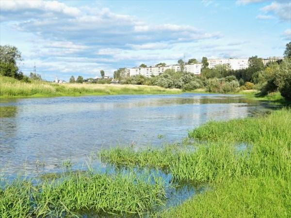 Река Усолка.