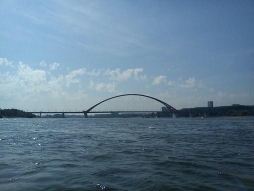 И снова арка Бугринского моста