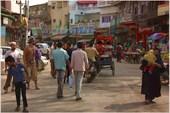 Улица Мэйн Базар в Дели