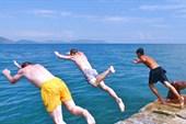 синхронные прыжки