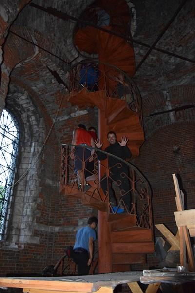 Подъём на колокольню
