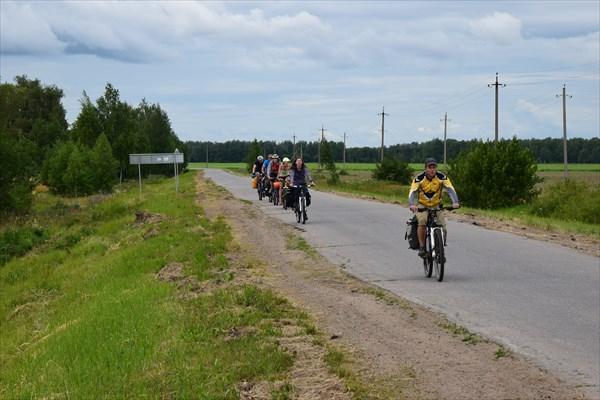 Дорога в Новосёлки