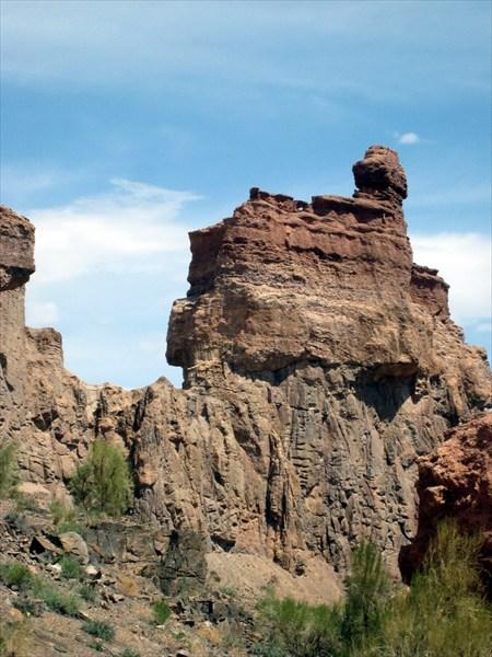 Чарынский каньон. Долина замков.