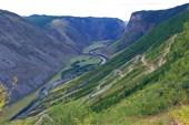 Перевал Каут-Ярык и долина Чулышмана