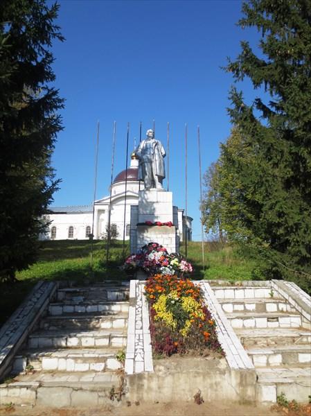 Памятник Ленину Мышкин