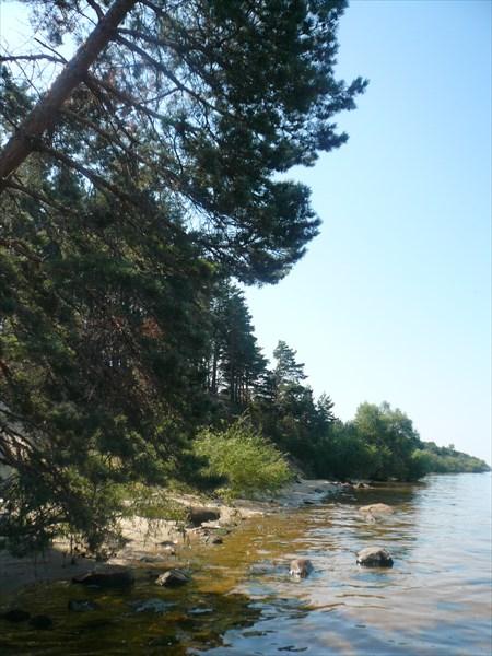 Дер. Ларионово, Рыбинское водохр