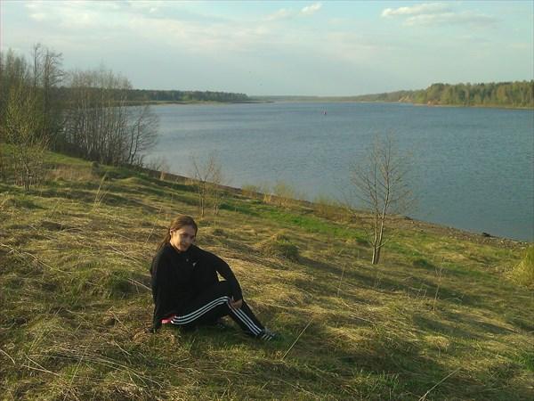 Р. Волга, в районе дер. Антифьево