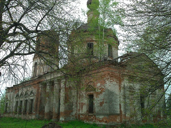 Церковь Рождества Пресвятой Богородицы 1796? c. Николо-Перевоз