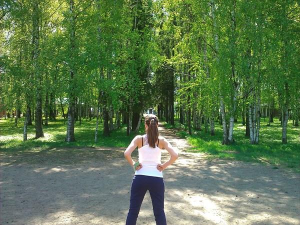 Усадьба Некрасова, нач. 19 в. верхний парк