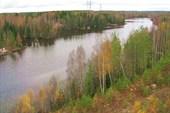 Мост через Сайменский канал, который соединяет
