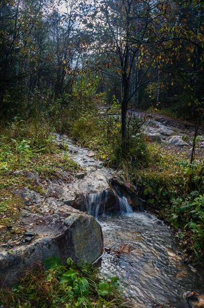 Грунтовая дорога к горе Большой Нургуш