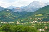 Окрестности городка Гап. Деревушки в Ронских Альпах