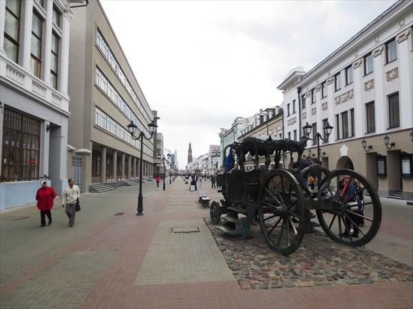 Карета Екатерины II - памятник её посещению Казани (Казань)
