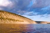 Скалы реки Оленёк