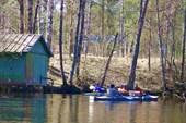 Река Судогда. Май 2009. Лагерь `Хрусталек`.