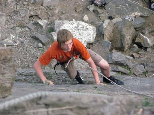 На скале Ишим начало всех тренировок