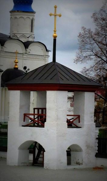 Колокольня, в которой висел ссыльный Угличский колокол