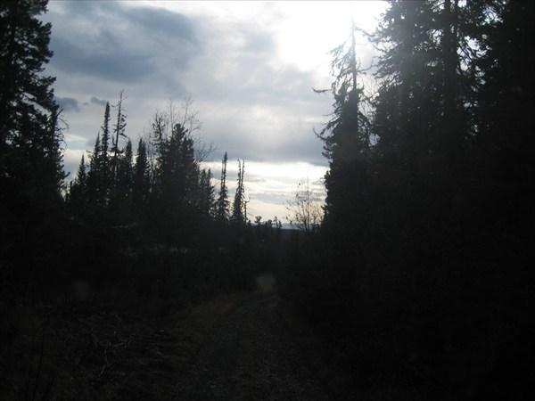 Дорога на Летний Агул. Идарское белогорье Восточный Саян.