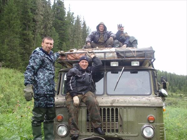 Команда экспедиции Восточный Саян-2009