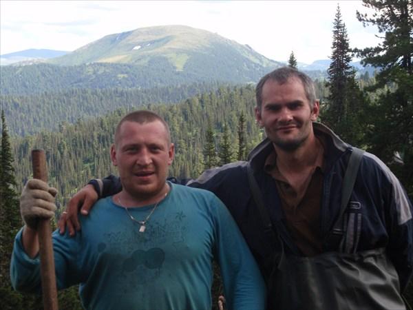 Михаил и Игорь. г. Сиротка