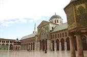 Внутренний двор мечети Омейядов