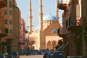 Вид на мечеть аль-Амин в Бейруте