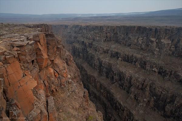 Каньон реки Хикикаль.