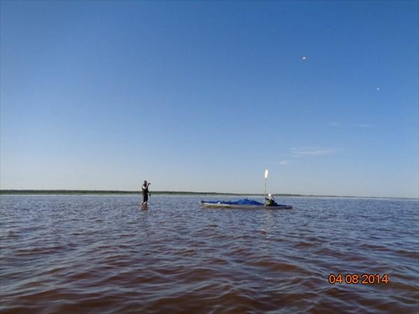 Дельта Онеги в Белом море