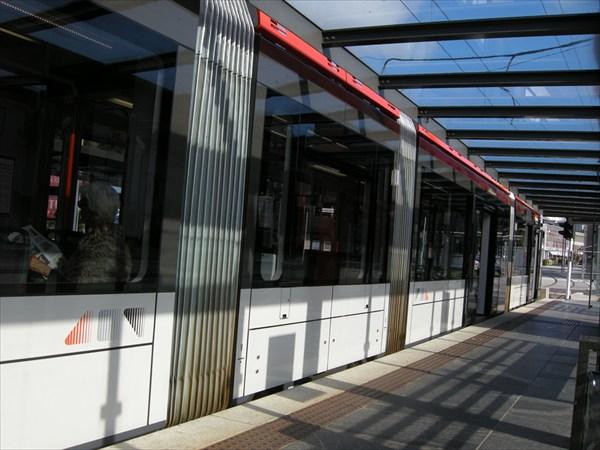 Трамвай в Бергене