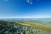 Вид с вершины Улюты на Север