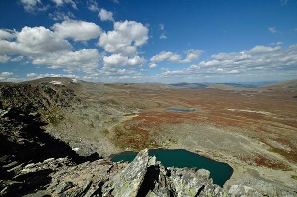 Озера под г. Ильгумень