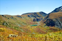 Перевал между р. Кызыл-Айры и Ниж. Катанда