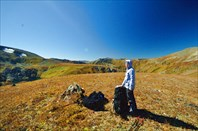 На перевал между р. Кызыл-Айры и Ниж. Катанда