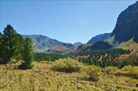 Гора 2808 и перевалы 2480 и 2600