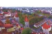 Таллин. Старый город с высоты башни