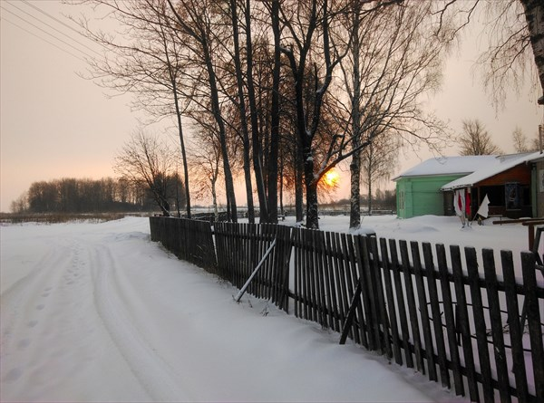 Лыжная база в Незнаново