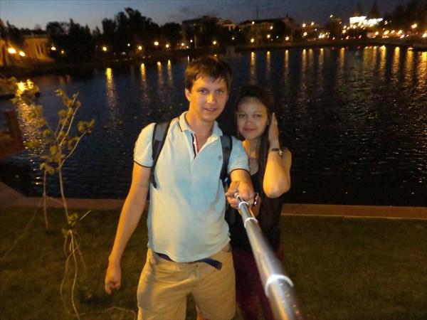 Лебединое озеро, Астрахань.