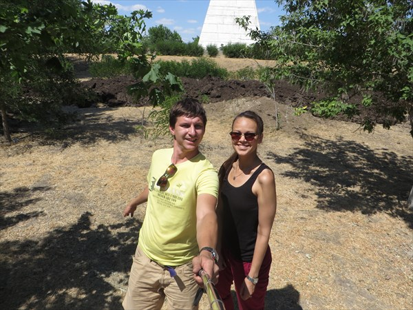 Астраханская пирамида Голода. Минуты геокешинга