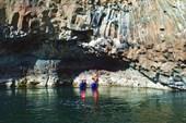 Каньон после водопадов на Иркинде