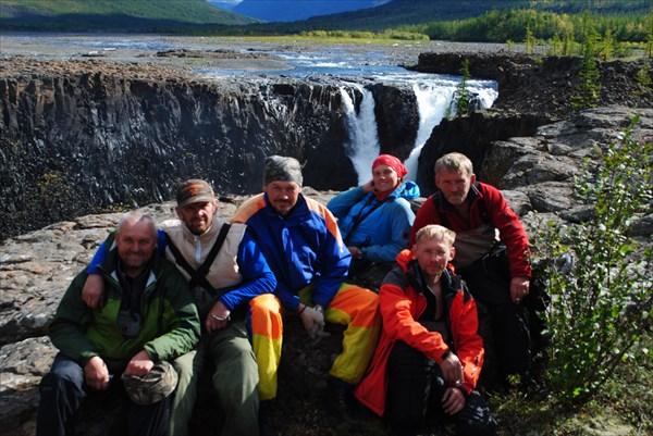 Иркиндинский водопад