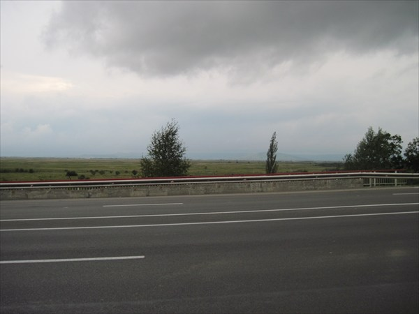 Дорога на Славянку.В районе с. Раздольное